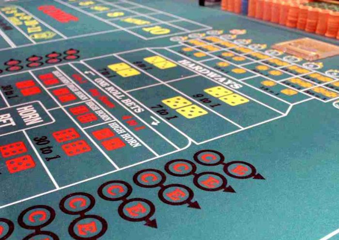 How to play craps table for beginners casino