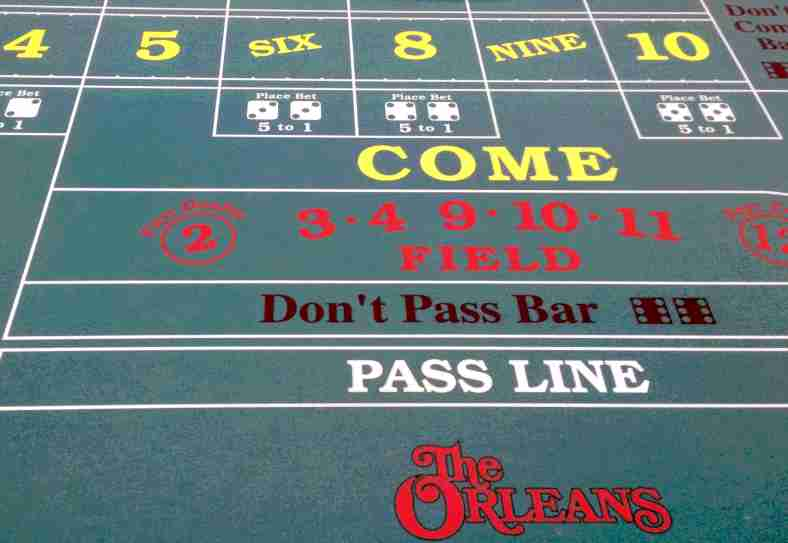How to play craps table for beginners